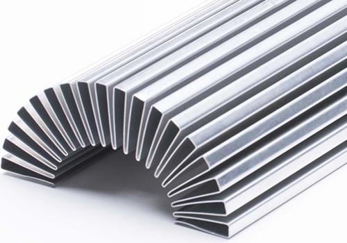 Plain Folded Fins – Robinson Fin Machines