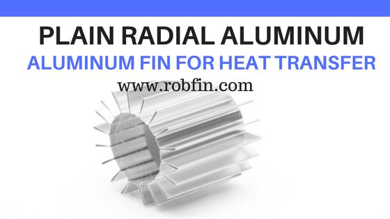 FIN -PLAIN RADIAL Aluminum